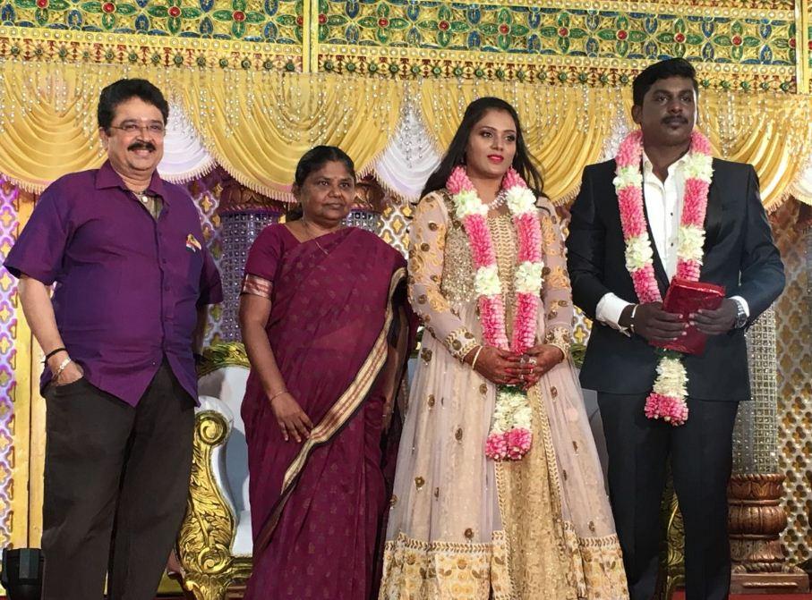 Metro Director Ananda Krishnan Wedding Reception At Madurai PTR Hall!