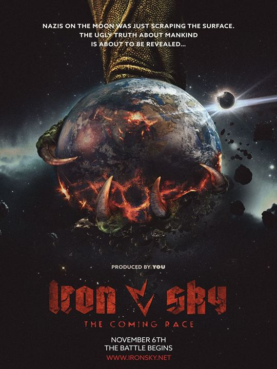 Iron Sky: The Coming Race Movie Review English Movie Review