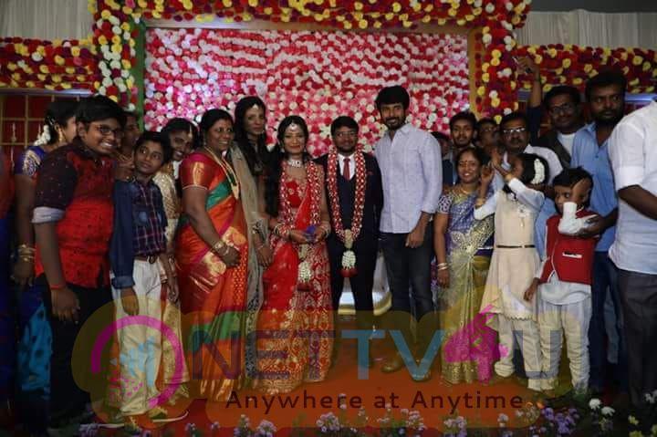 Poovai Mani Family Wedding Reception Pics Tamil Gallery