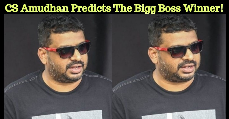 Tamizh Padam Director Predicts The Bigg Boss Winner!