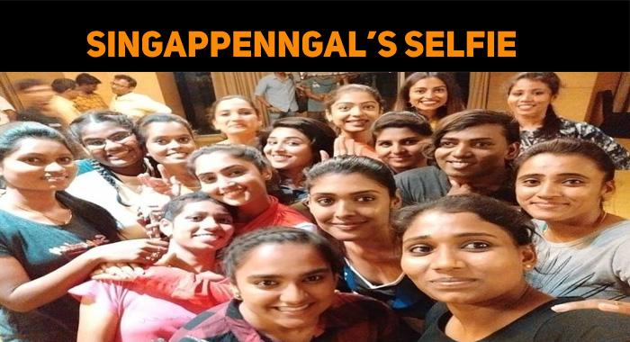 Bigil Singappengal's Selfie!