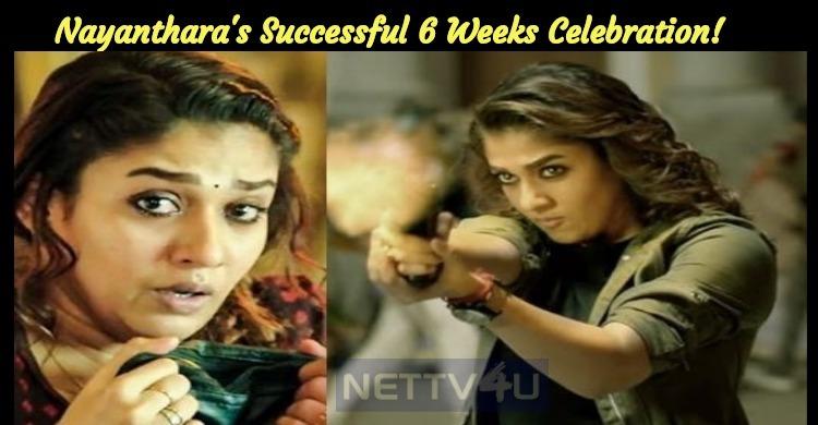 Nayanthara's Successful 6 Weeks Celebration!