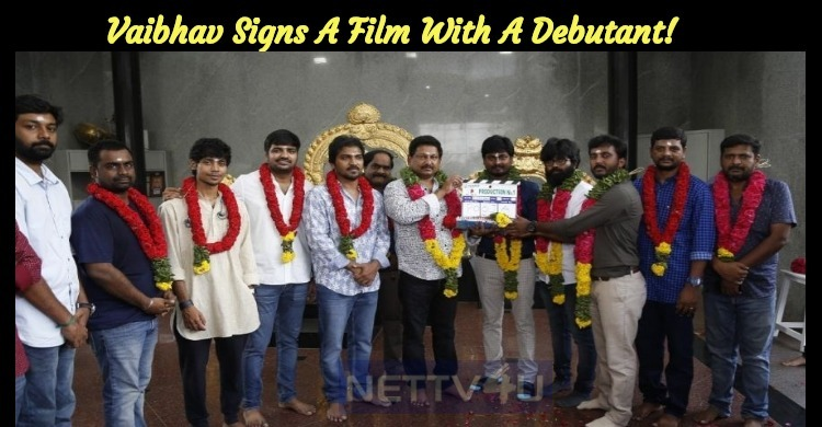 Vaibhav Signs A Film With A Debutant!
