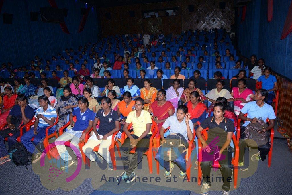 Miga Miga Avasaram Movie Special Screen For 20 Women Policies