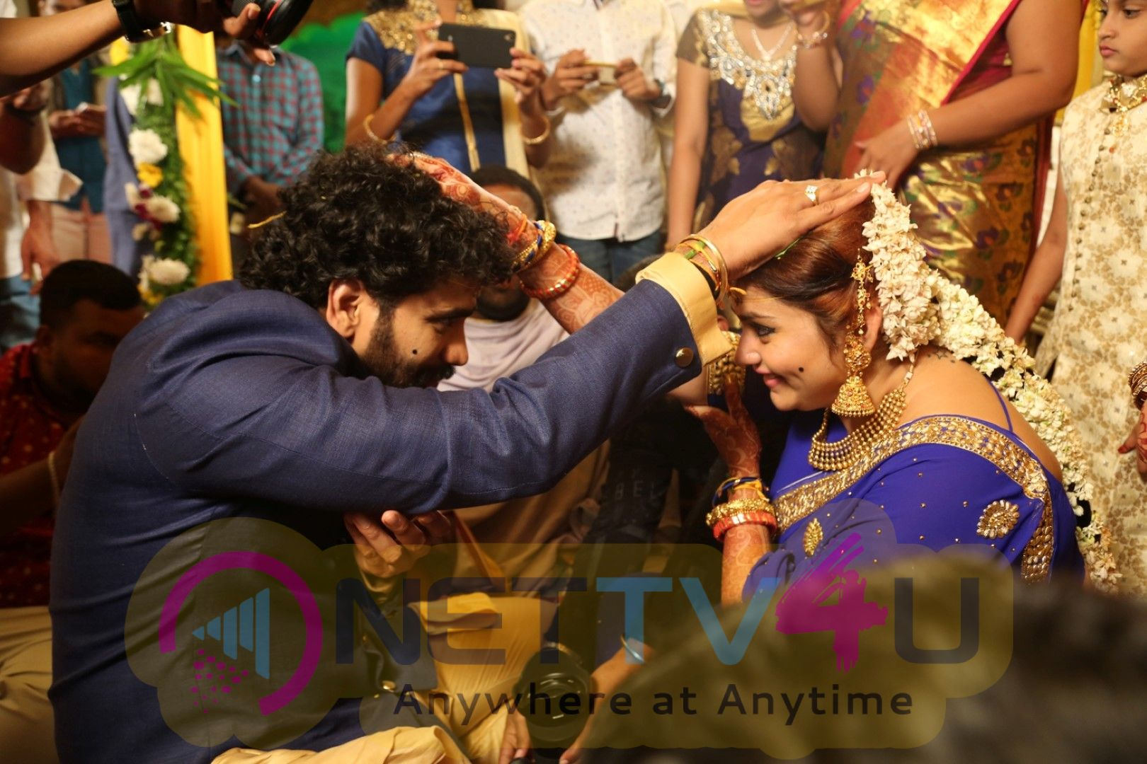 Actress Namitha Wedding Celebrations Photos