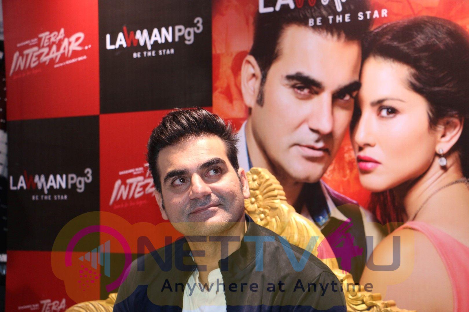 Arbaaz Khan At Meet & Greet With The Media For Film Tera Intezaar Images