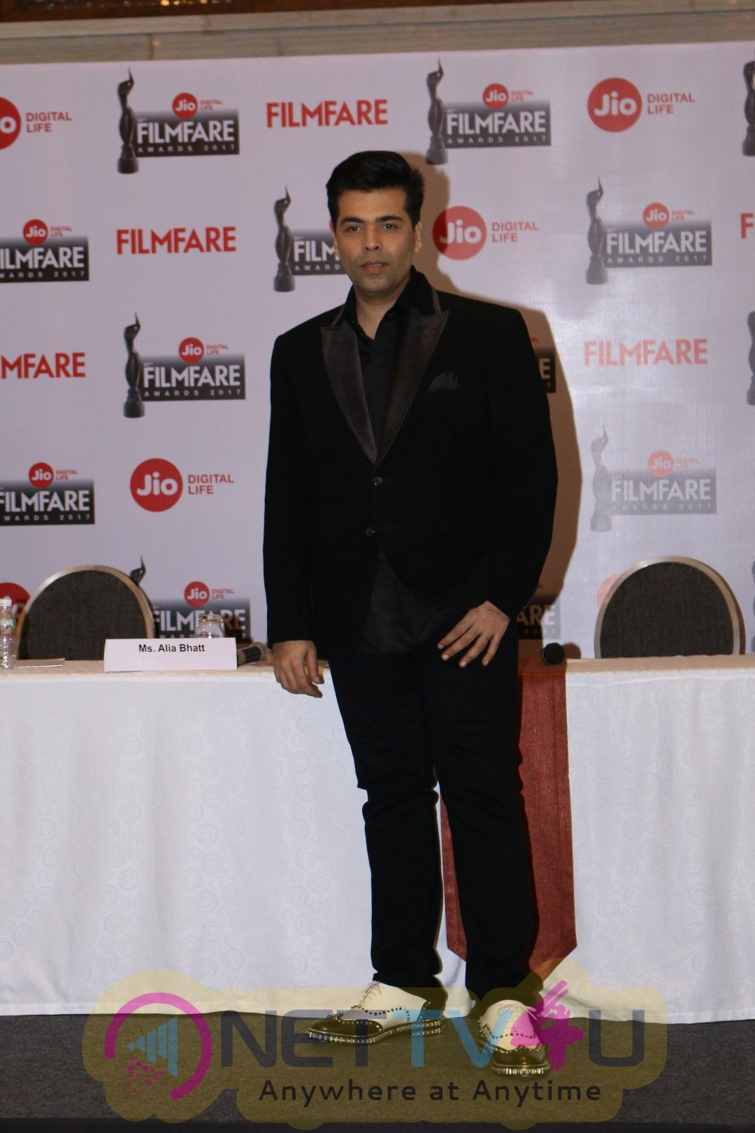 Announcement PC Of The 62nd Jio FilmFare Awards 2017 With Alia Bhatt & Karan Johar Stills