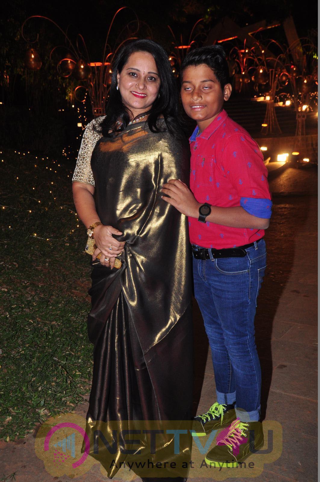 Veena Vinayak Sangeeth Party Cute Photos Telugu Gallery