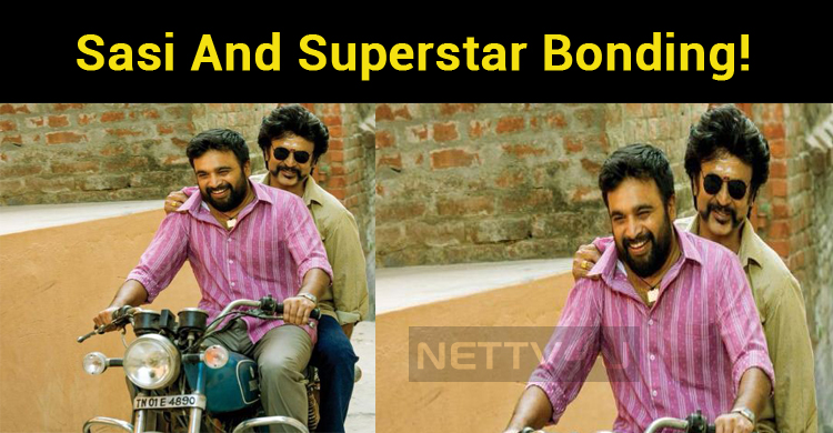 Sasi And Superstar Share A Great Bonding!