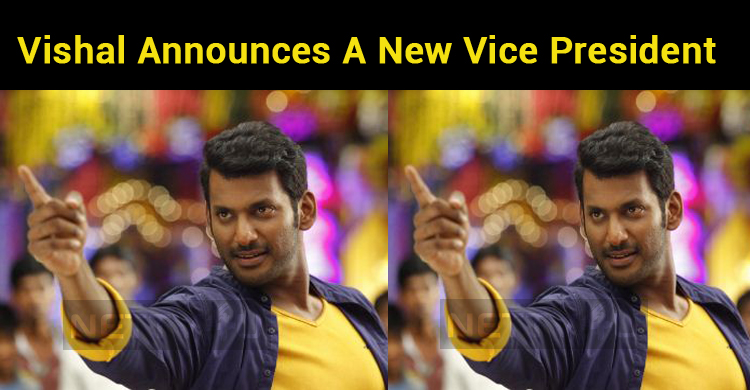 Vishal Announces A New Vice President In TFPC! Action Against Rivals!