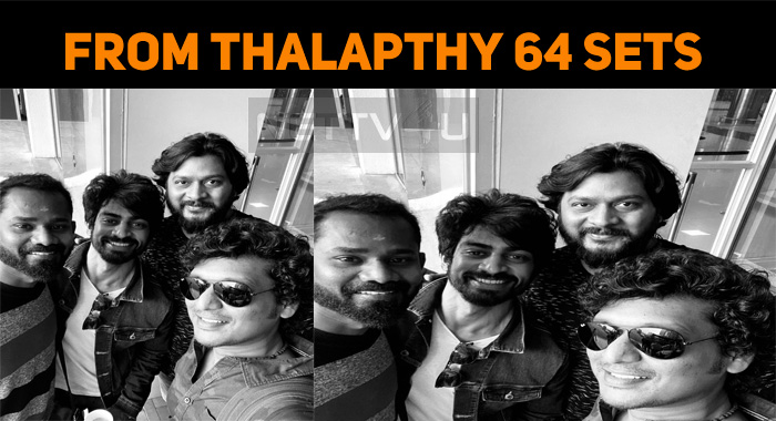 The Latest Photo From Thalapathy 64 Sets!