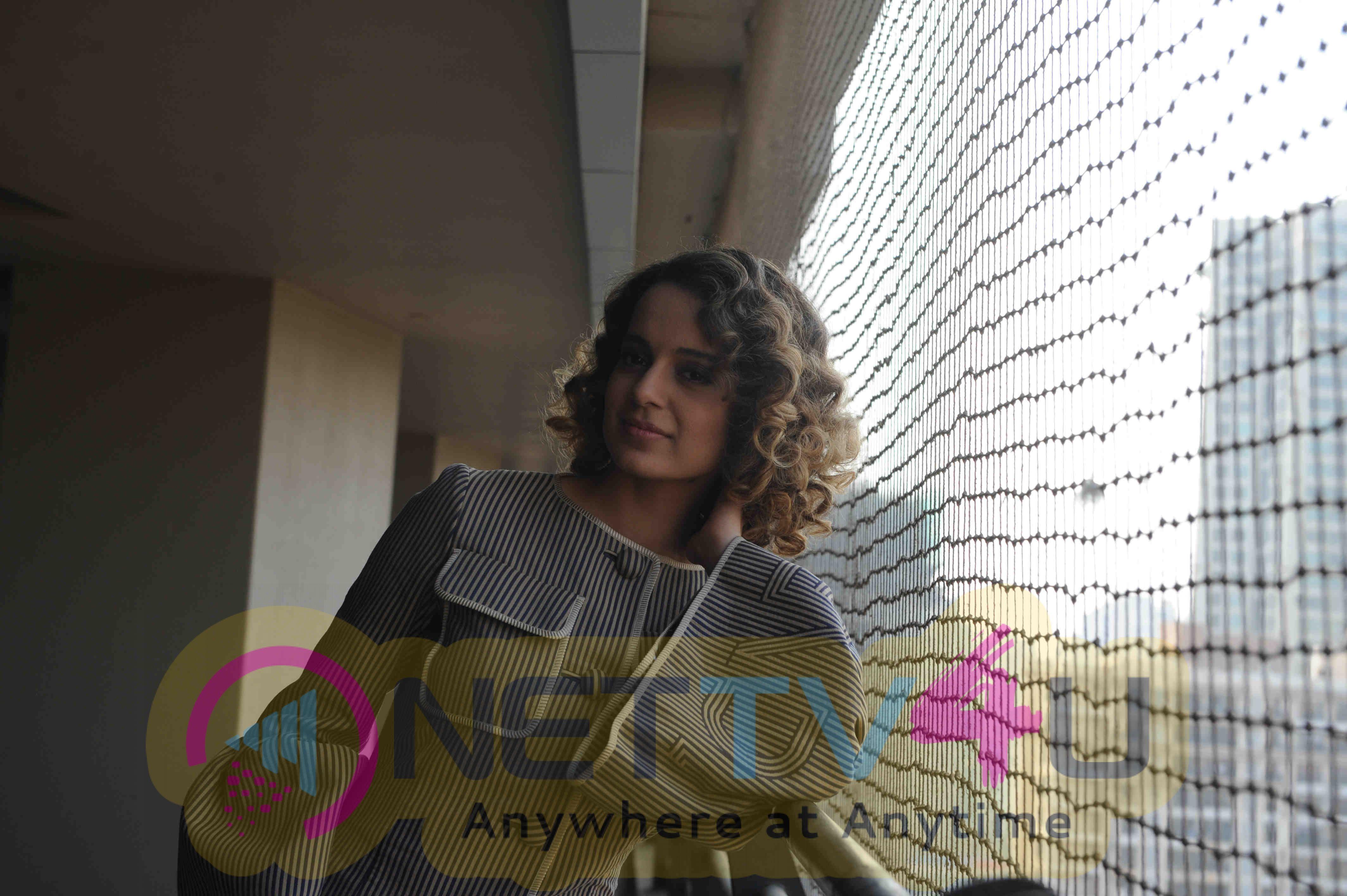 Actress Kangana Ranaut During The Media Interaction Of Film Rangoon Pics Hindi Gallery