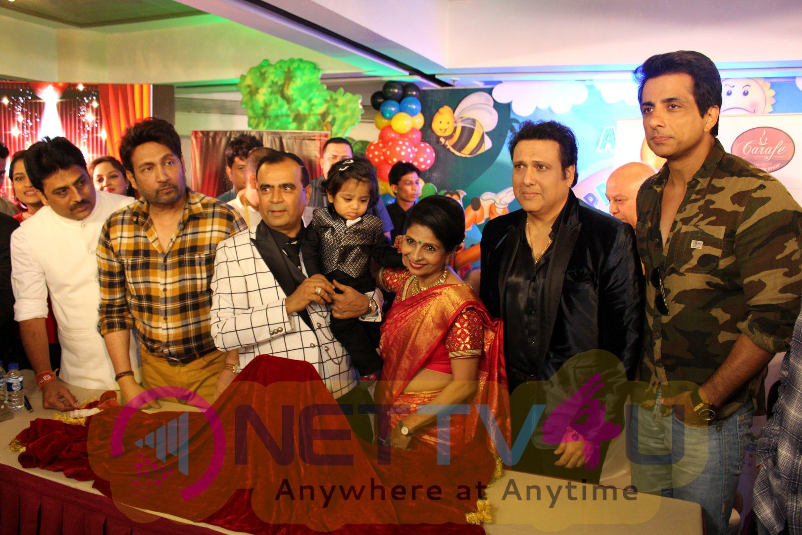 Govinda,Sonu Sood,Yogesh Lakhani & Satish Shetty To Unveil 3rd Bright Award Trophy Stills Hindi Gallery