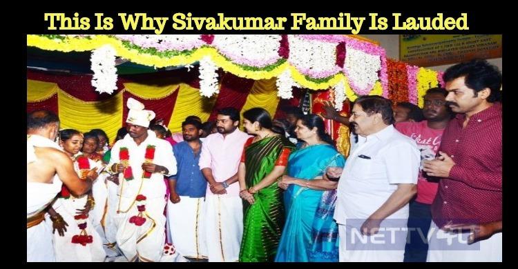Sivakumar Is The Strength Behind Suriya!