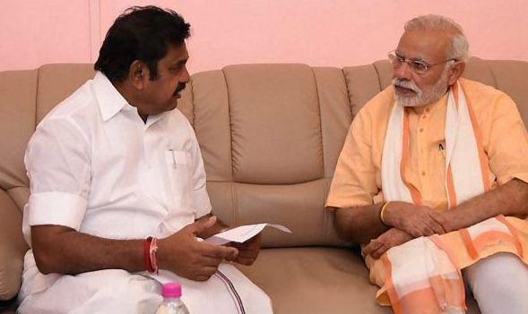 EPS To Meet Narendra Modi!