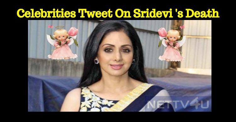 Celebrities Tweet About Sridevi's Death!