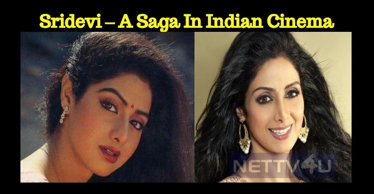 Sridevi – A Saga In Indian Cinema