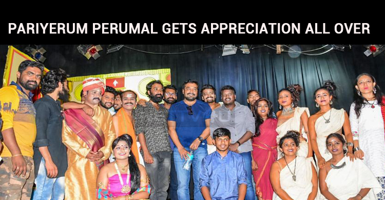 Pariyerum Perumal Gets Appreciation From Non-Tamil States!