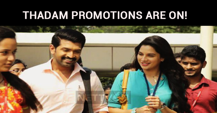 Thadam Promotions Are On! Arun Vijay Movie To Hit The Screens In March!