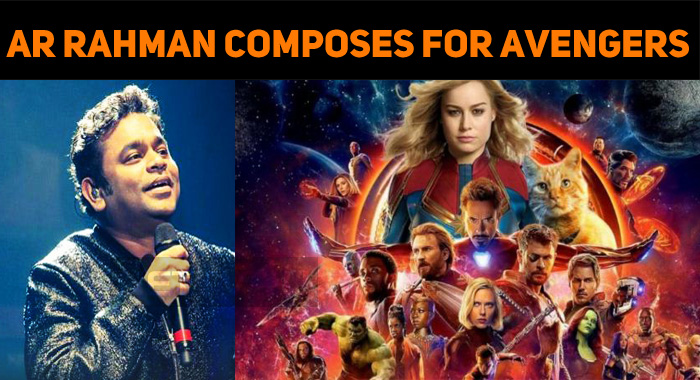 AR Rahman Composes For Marvel Movie!