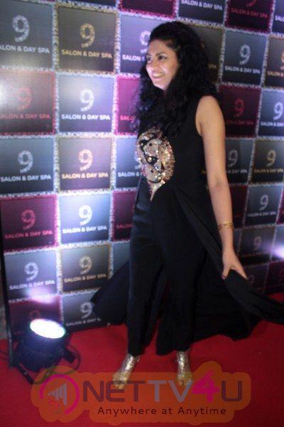 9 Salon & Day Spa Inaugurated By Tv Actress Kavita Kaushik & Music Director Lalit Pandit Hindi Gallery