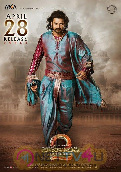 Baahubali 2 Release Date Poster And Still