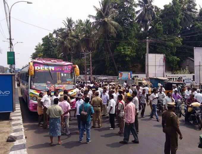 Opposition Parties' Strong Bandh…
