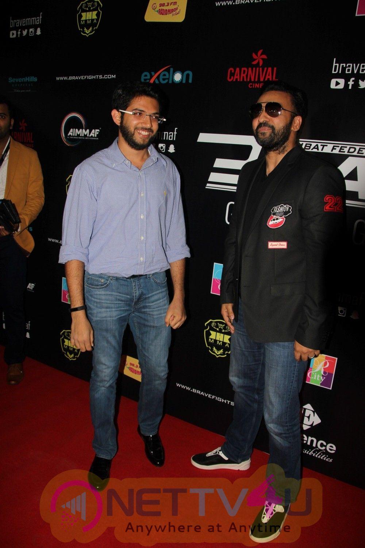 Poonam Pandey & Aditya Thackeray Launch Of Bahrains Brave Combat Federation