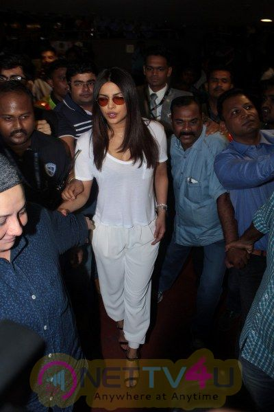 Spotted Priyanka Chopra At Airport