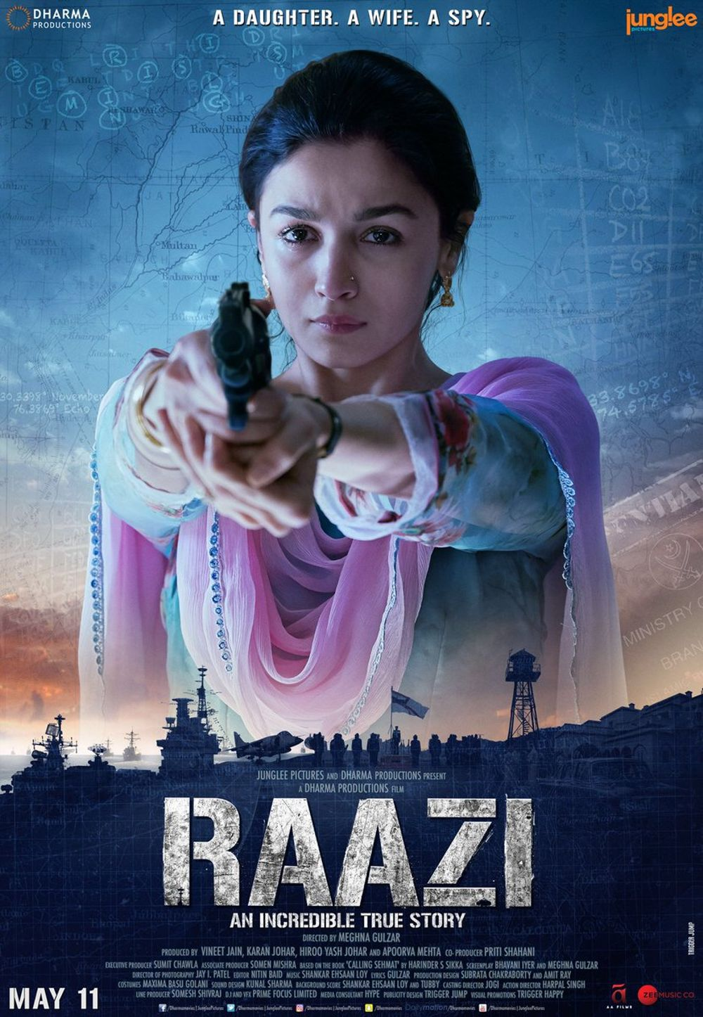 Raazi Movie Review Hindi Movie Review