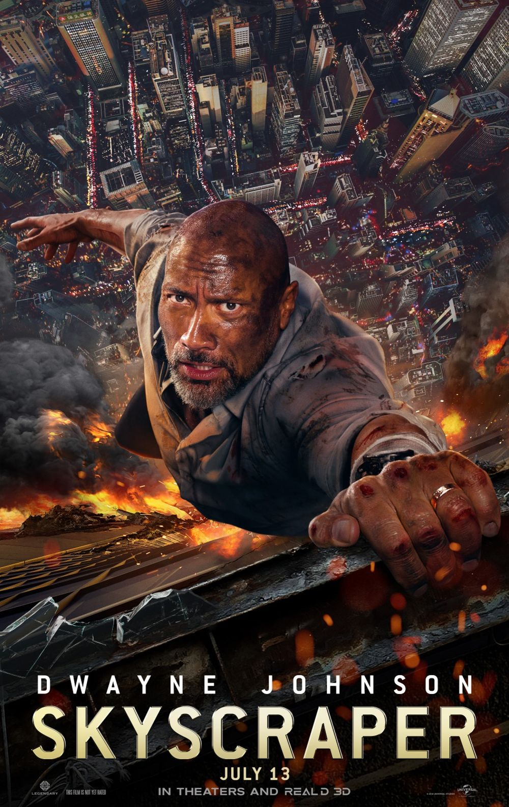 Skyscraper Movie Review English Movie Review