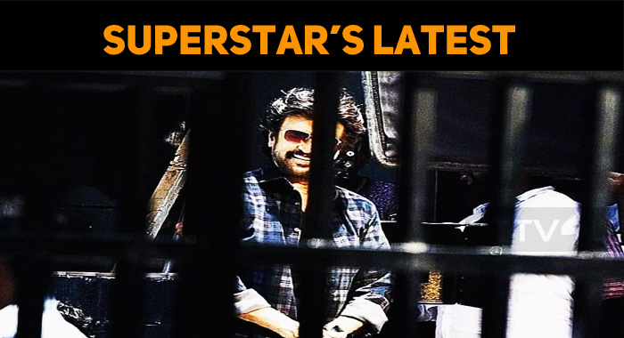 Superstar's Stunning Image From Darbar Sets Leaked!