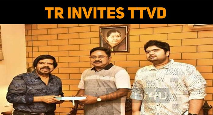 TR Visits TTV Dhinakaran!