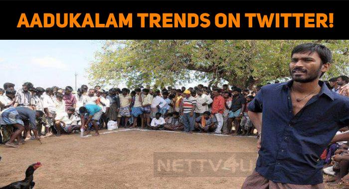 Dhanush's Aadukalam Trends On Twitter!