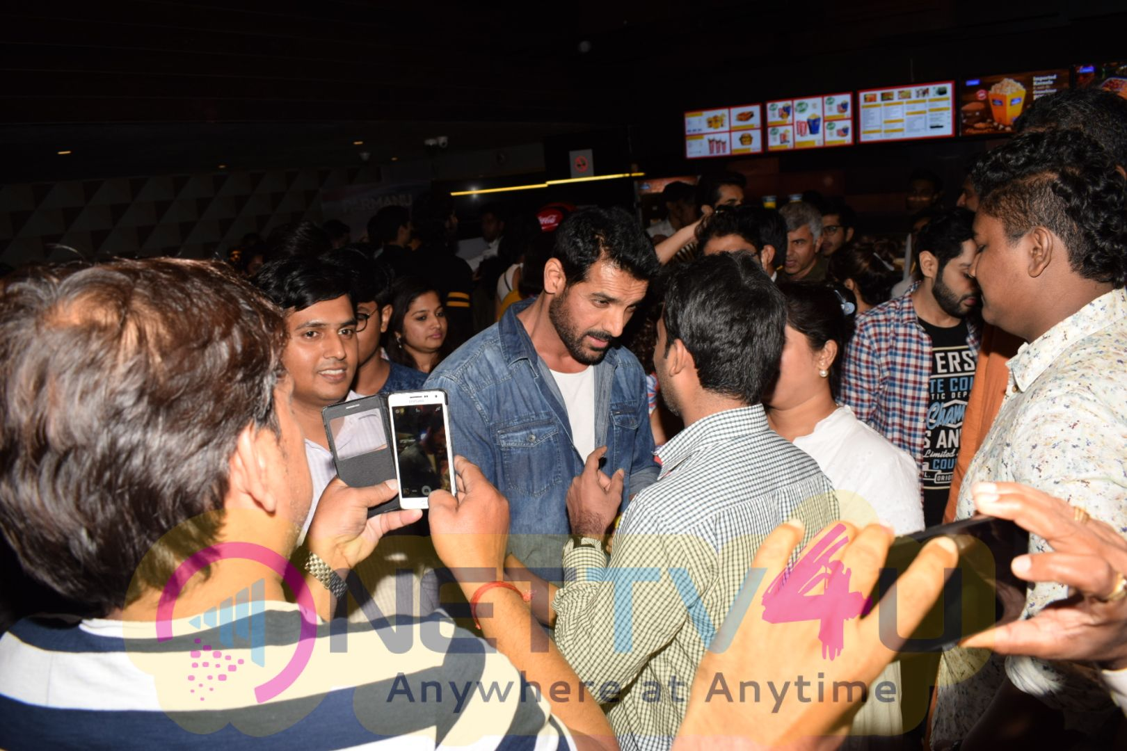 John Abraham Came To Press Show Parmanu