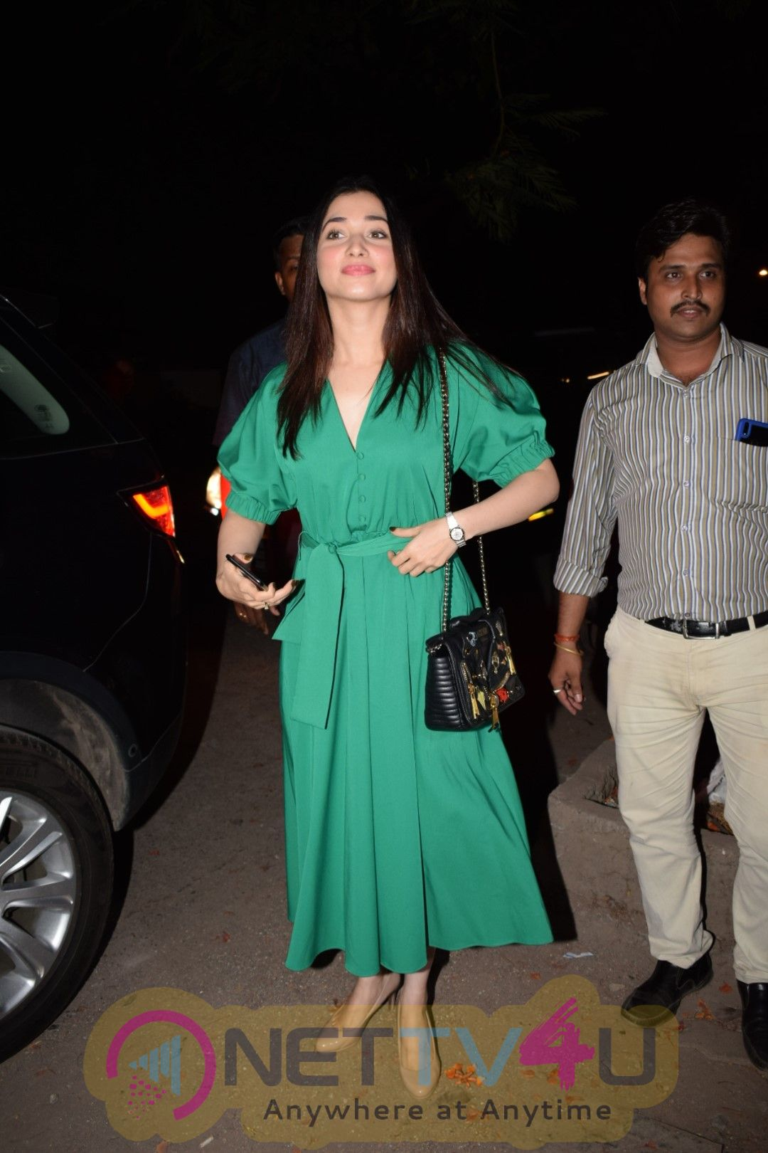 Tamannaah Bhatia Came To Nikhil Dwivedi Home
