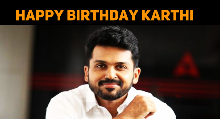 Happy Birthday, Dear Karthi!