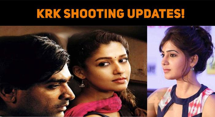 Kaathuvaakula Rendu Kadhal Shooting Updates!