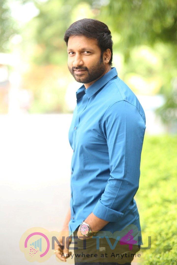 Pantham Telugu Movie Trailer Launch Photos English Gallery