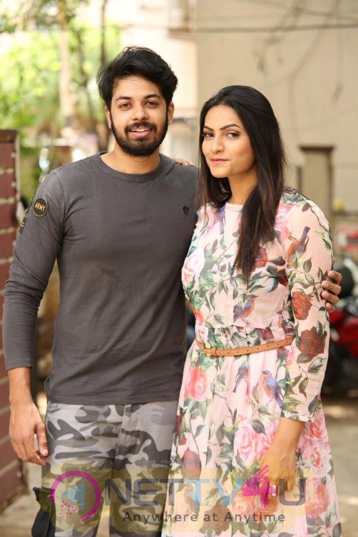 Sanjevani Movie Press Meet Beautiful Stills  Telugu Gallery