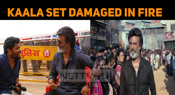 Fire Accident In Rajini Movie Sets!