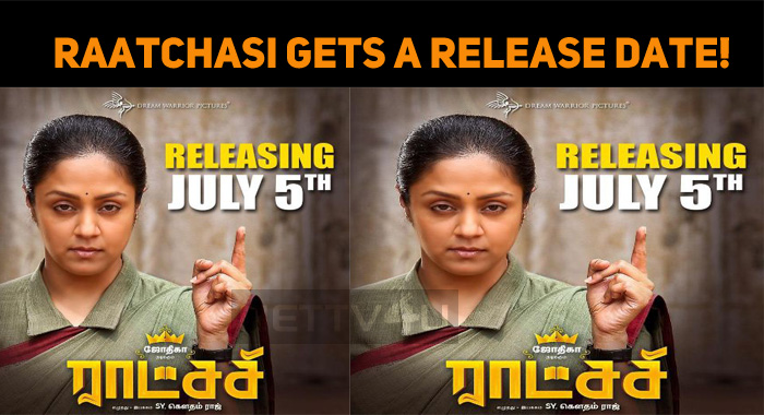 Raatchasi Gets A Release Date!