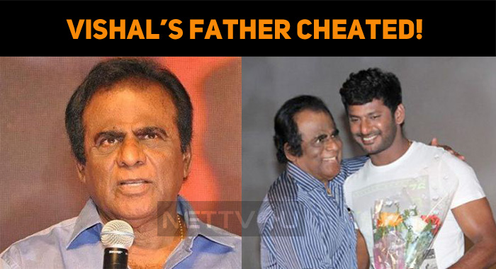 Vishal's Father Cheated! Quarry Owner Arrested!