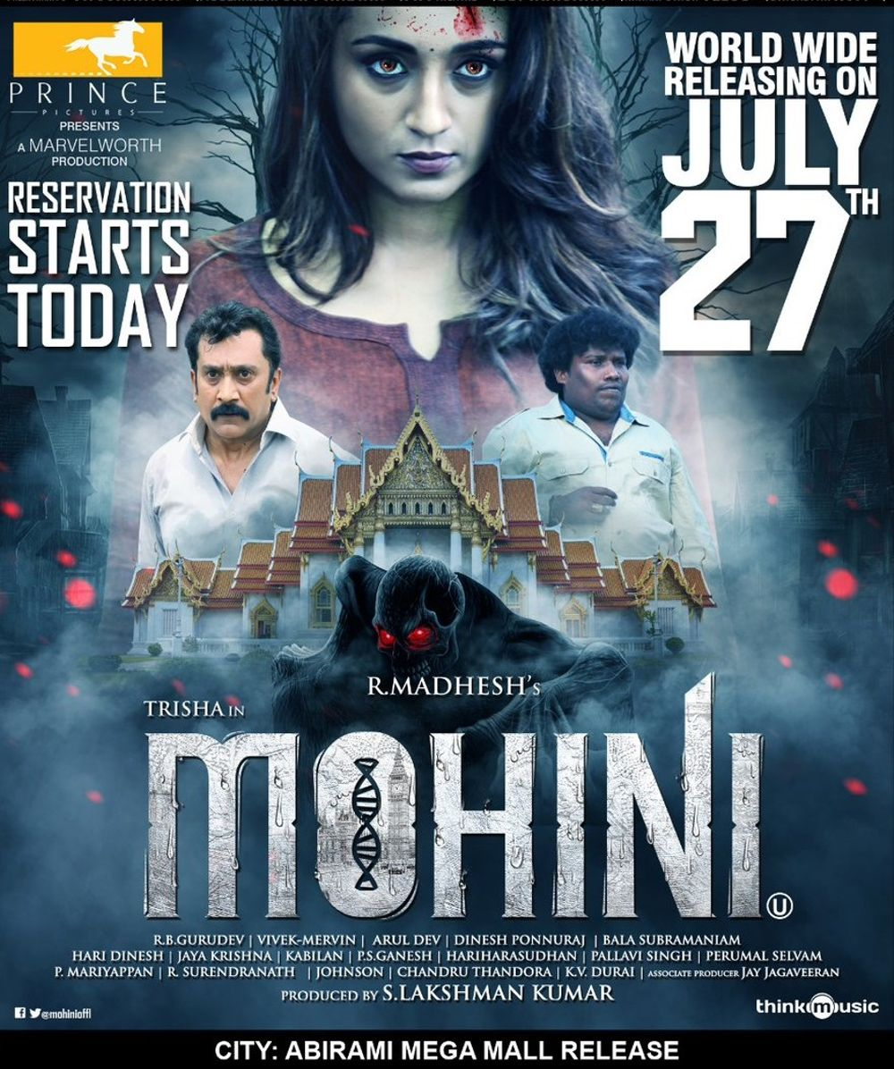 Mohini Movie Review Tamil Movie Review