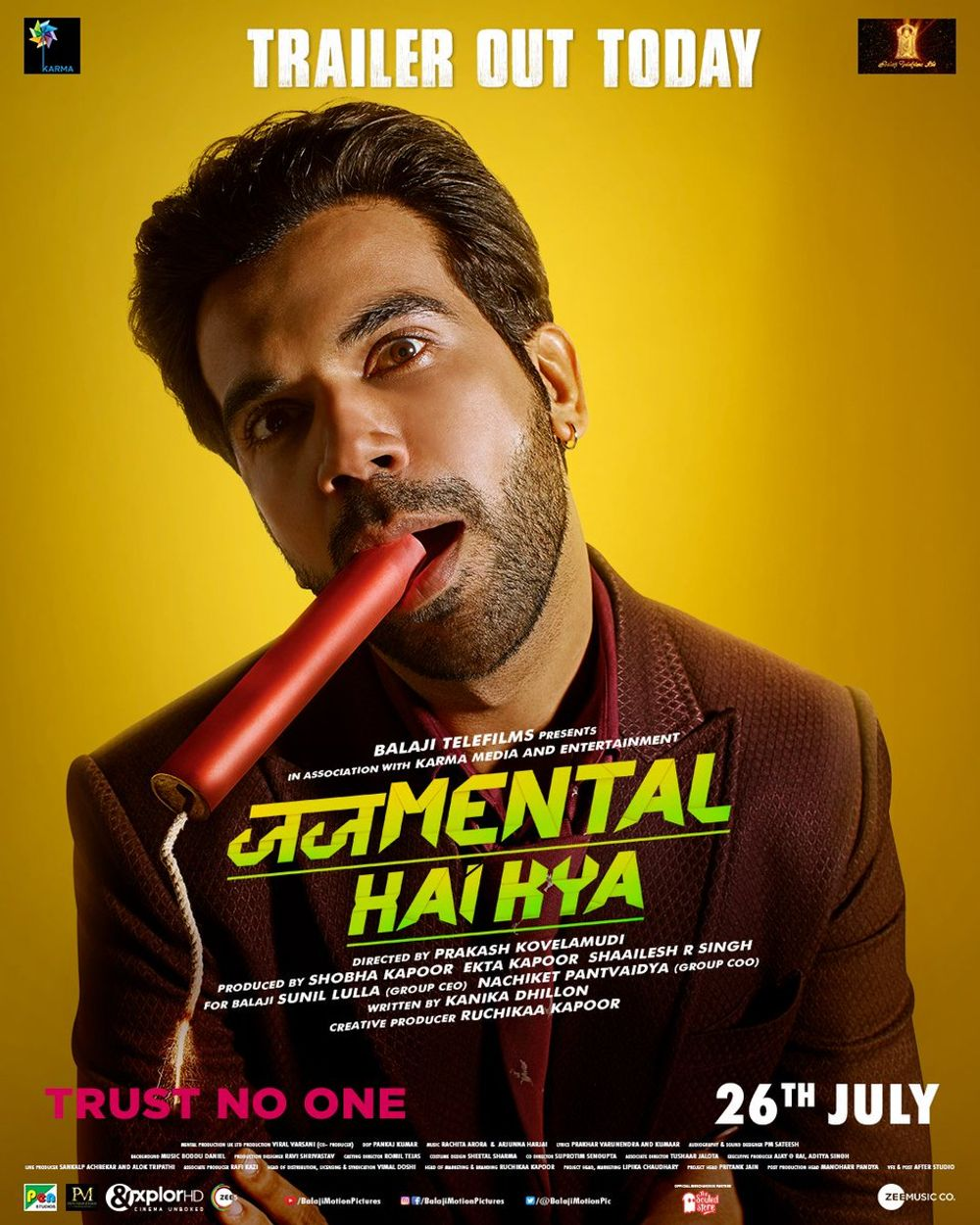 Judgemental Hai Kya Movie Review