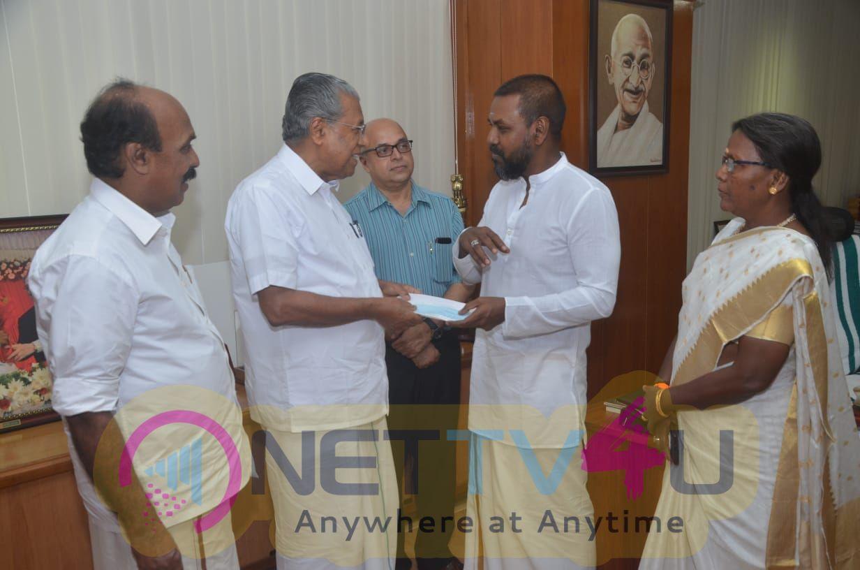 Raghava Lawrence Donates 1 Crore To Kerala Pics