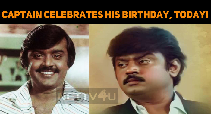 Captain Vijayakanth Celebrates His Birthday, To..