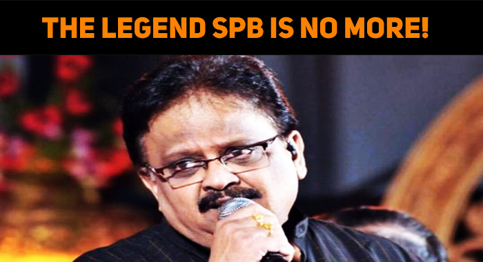 SPB Is No More! Leaves Everyone In Tears!