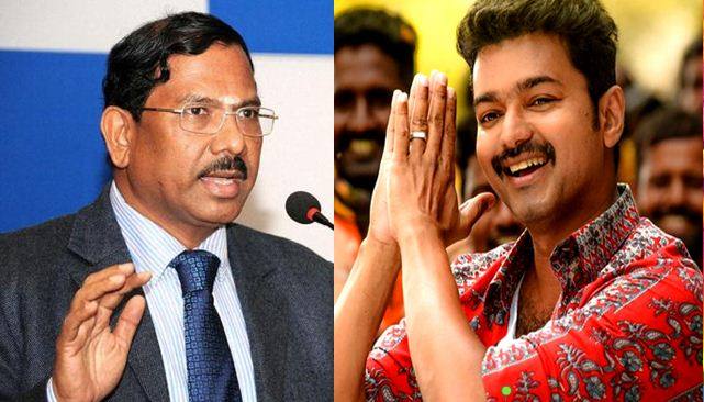 Tamilnadu Government Supports Mersal - Minister Pandiarajan