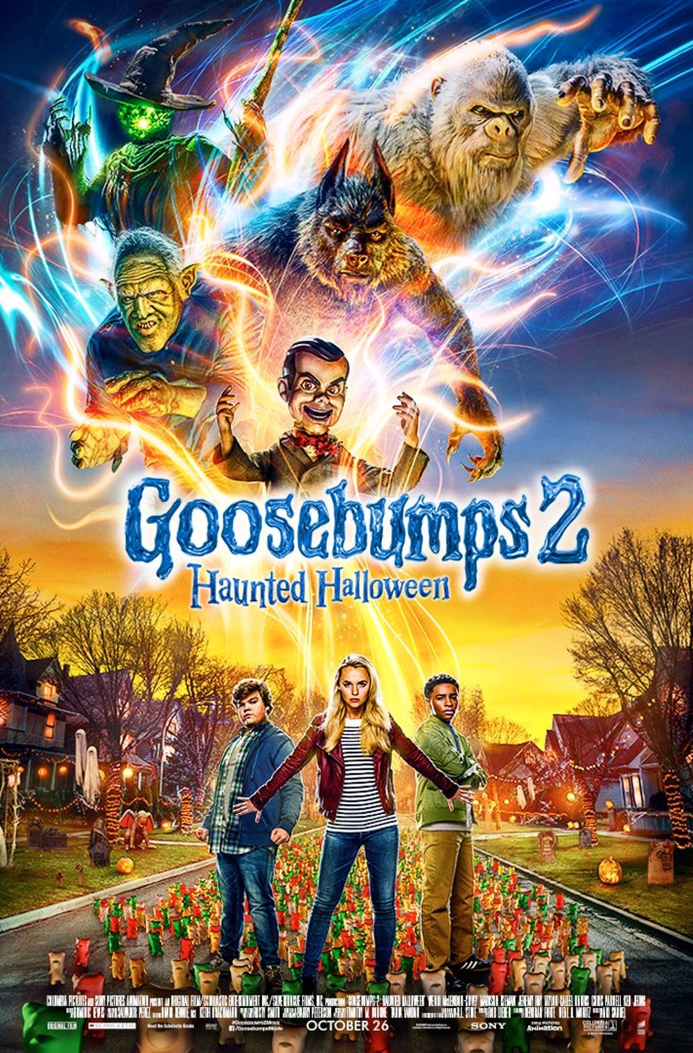 Goosebumps 2: Haunted Halloween Movie Review